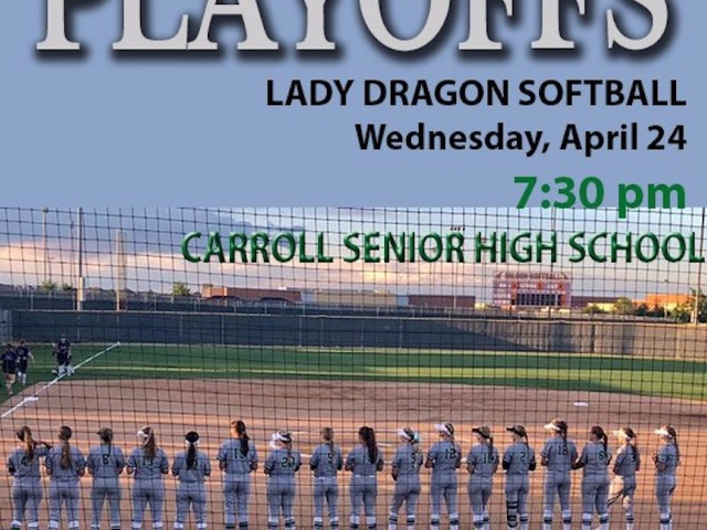 Bi-District Playoffs for Lady Dragon Softball begins tonight