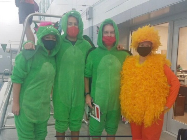 Image for Dragon Swim/Dive hunts Rubber Chickens at 15th annual Bernie Ausdenmoore Dragon Hunt