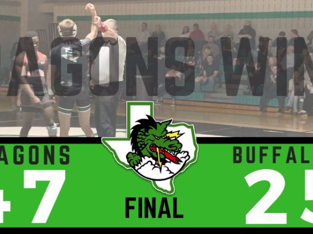 Dragon Wrestling dominates Haltom 47-25
