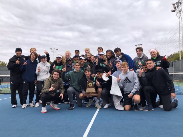 Dragon Team Tennis advances to STATE for 1st time in over a decade winning the Region 1 Tournament