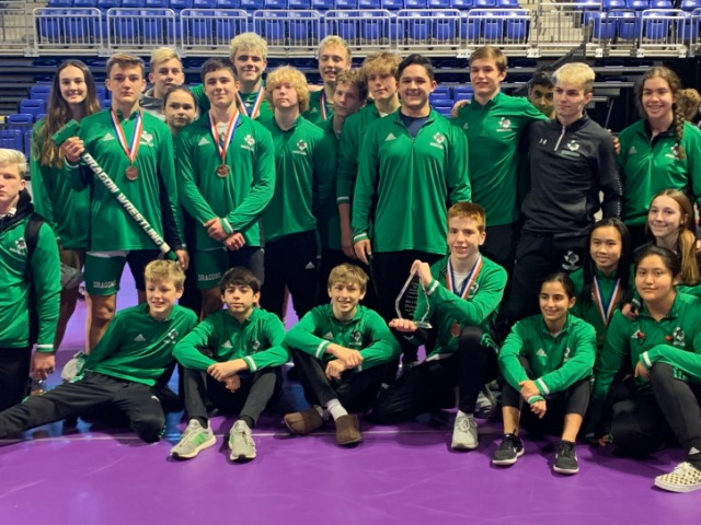 Dragon Wrestling wins Cy-Fair Meet