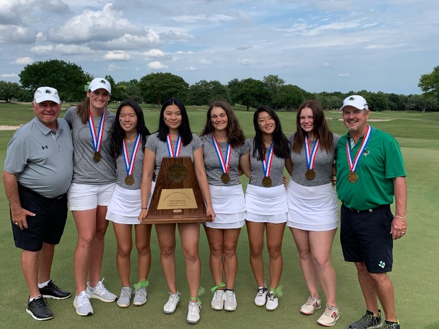 Lady Dragon Golf earns Bronze medal at UIL State