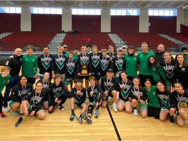 Dragon Wrestling wins 4-6A title and Lady Dragons take 2nd