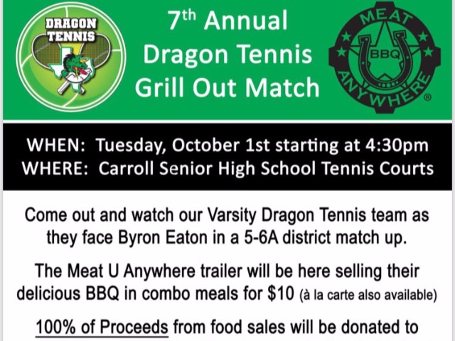 Special time for Dragon Tennis