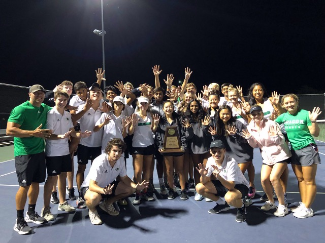 District Champs Dragon Team Tennis playoffs Oct. 15th