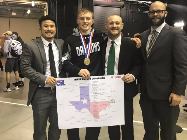 Dragon Wrestlers take Gold and Silver at State