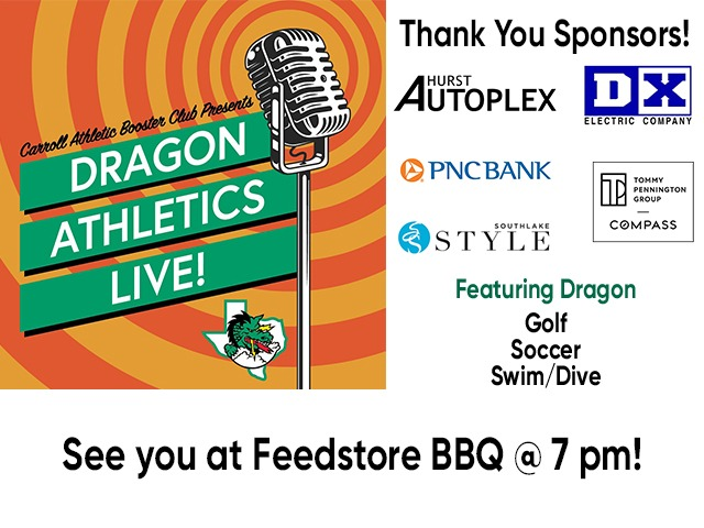 Dragon Athletics LIVE! Tonight