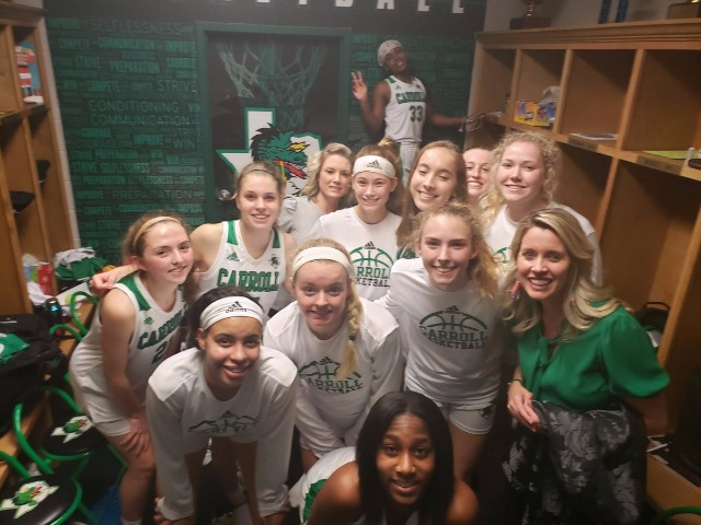 Lady Dragon Basketball picks up district W