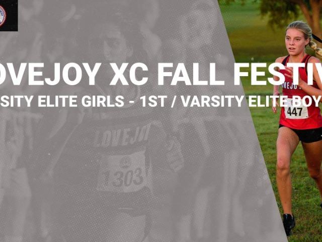 Girls Win / Boys 2nd at Lovejoy XC Fall Festival