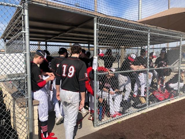Varsity Baseball beats Wylie 7-2 in Semi Final Game