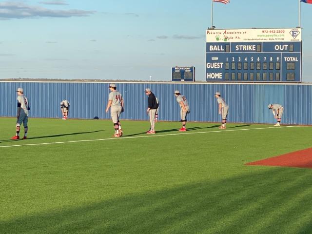 Varsity Baseball Beat Wylie East 4-1