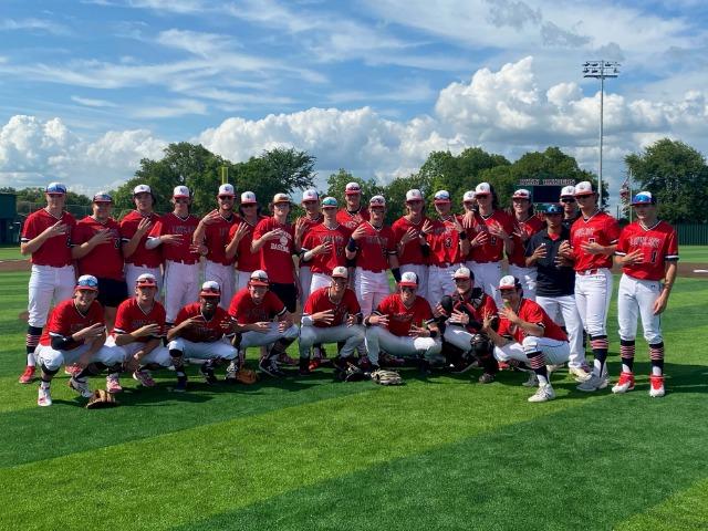 Varsity Baseball Lost to Hallsville 9-8