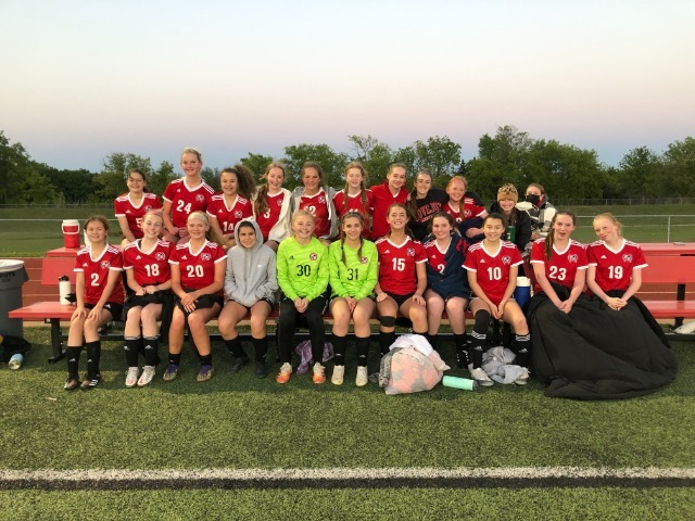 7th and 8th Grade Girls Soccer Game 5 Recap