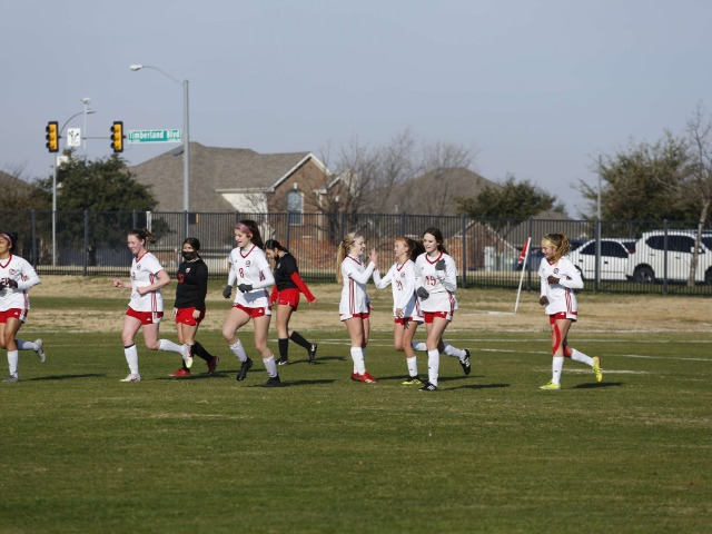 JV Girls Soccer Go 2-1 in the Keller Timber Creek Tournament