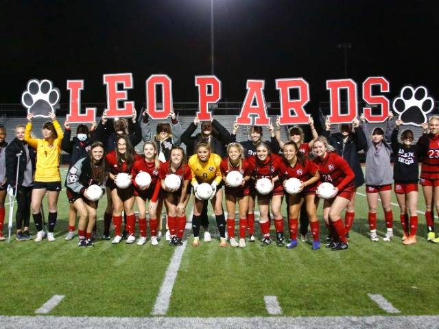 Girls Soccer Beat West Mesquite on Senior Recognition Night