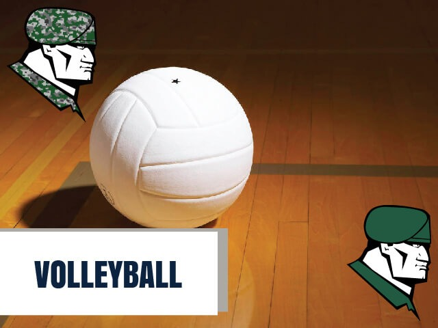 Rudder volleyball team defeats Waller in four sets