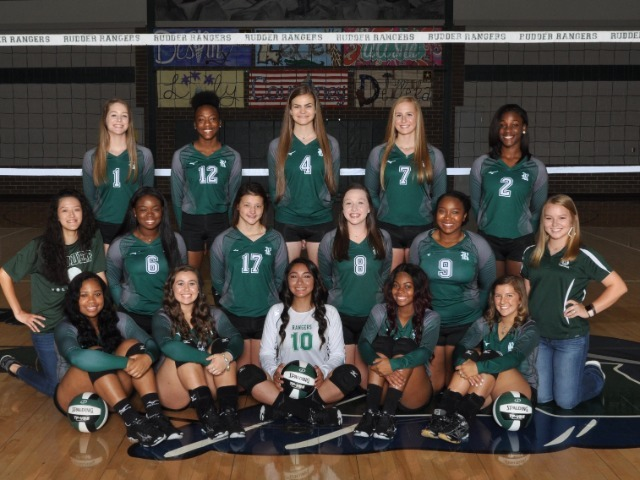 Rudder Volleyball Wins AVCA Team Academic Award for 11th Straight Year!
