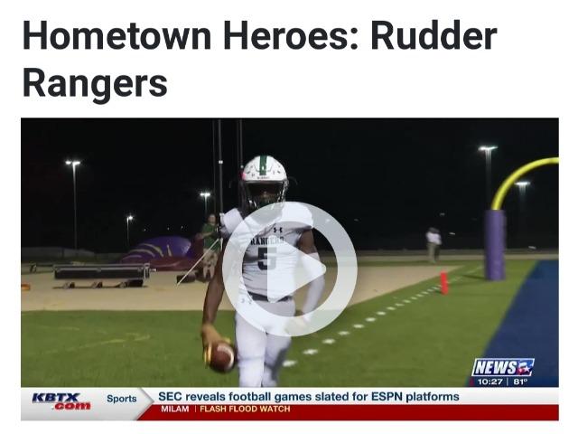 Hometown Heroes: Rudder Rangers