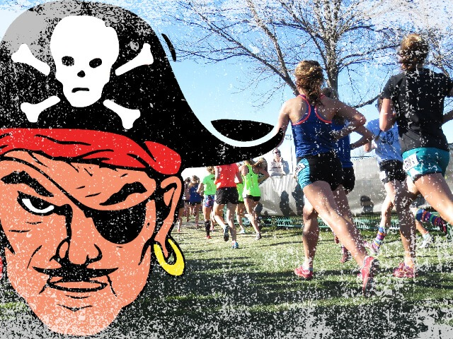 Jr. Lady Pirates XC wins Heber Springs