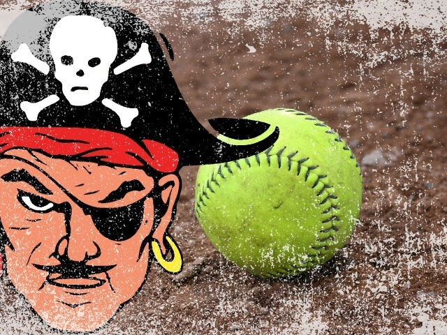 Lady Pirate Softball Picks up Big Road Win at Heber Springs, 10-1