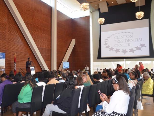 LRSD educators  annual reception