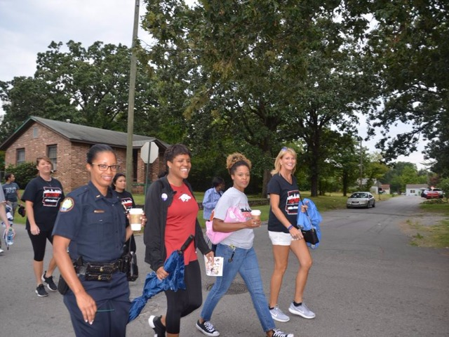 KARK/Fox 16's 3rd community walk Saturday calling for an end to violence