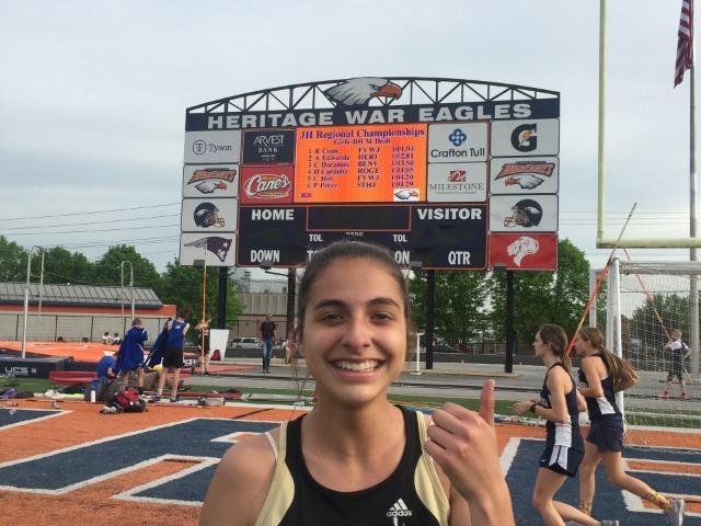Dorantes breaks Schools 400 Meter Record