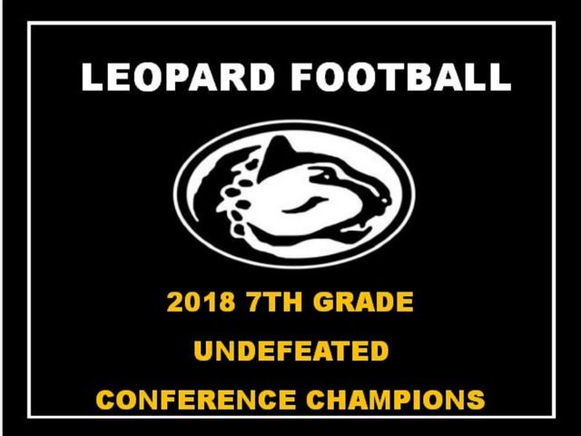 7th Grade Leopards End Season Undefeated