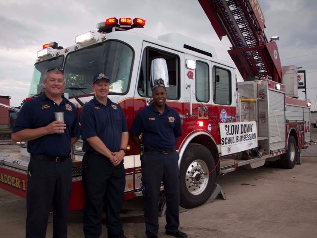 Rogers Fire Department for coming out with a special message today!!