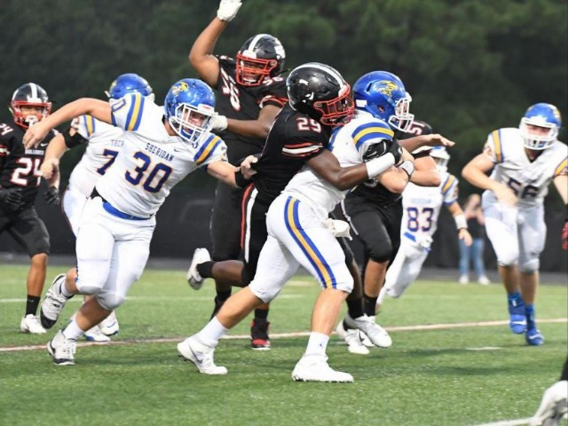 White Hall suffers first loss of the year against Sheridan