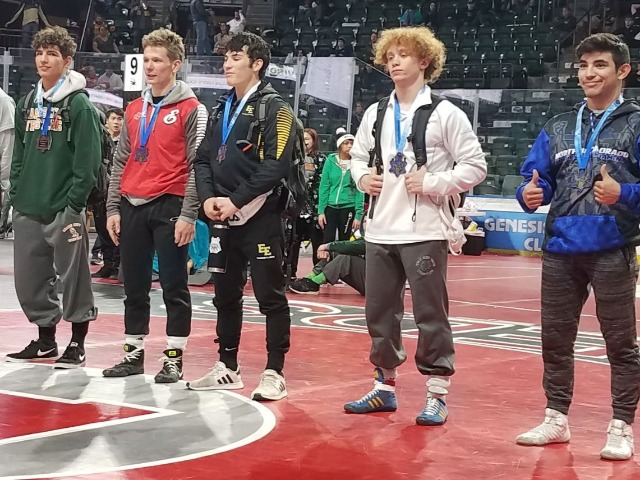 Deaguero takes 5th at Northern Colorado Christmas Tournament