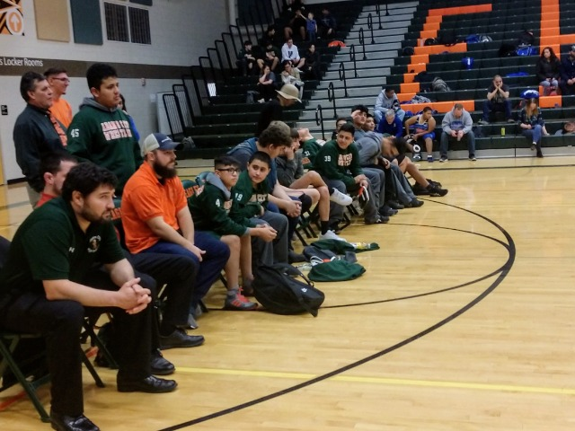 Wrestling Team Takes on 3 Teams