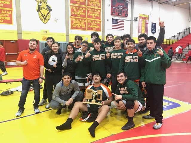 Adams City Wrestling Wins EMAC Championship