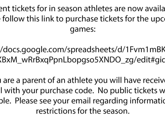 Image for Season Tickets