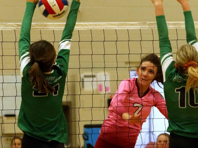 Palisade tops Delta in pink-out game