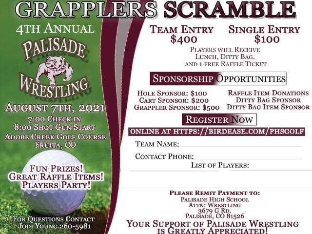 Image for Grappler Scramble Golf Tournament