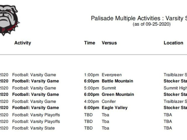 Image for schedule