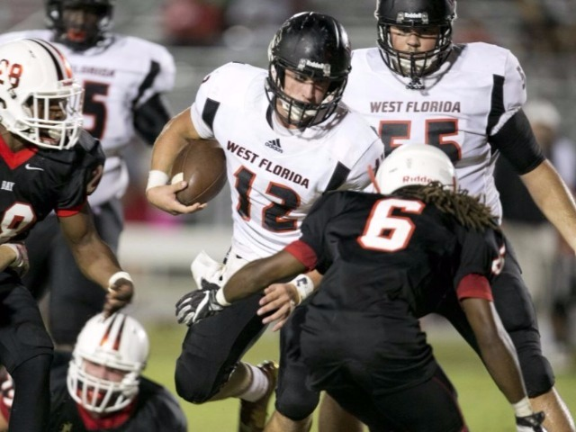 West Florida wallops Bay, 49-14