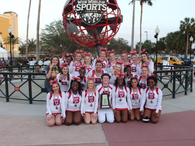 Bay Cheer is 3rd in the Nation