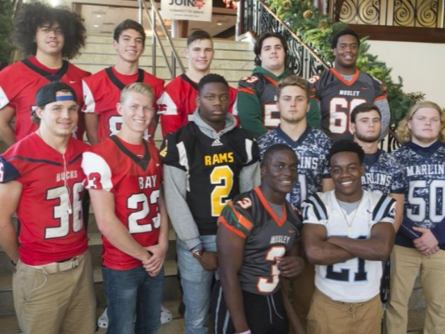 All-county football team offers something for everyone