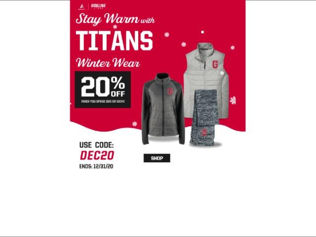 Image for December Sideline Store Sale