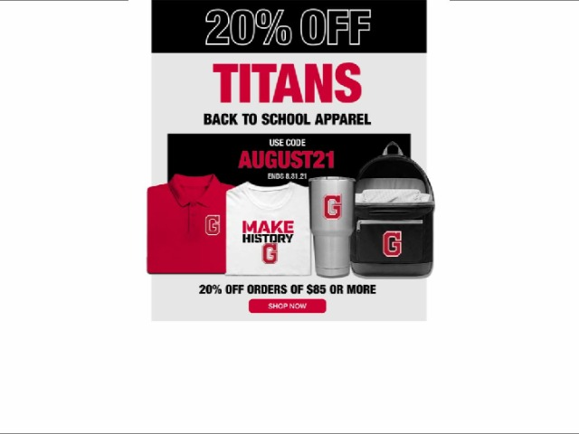 Image for August Sideline Store Special