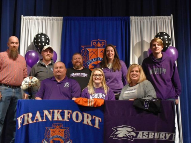 FHS' Pritchett signs with Asbury
