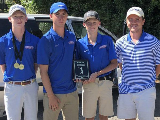 Frankfort boys golf team wins Berea Invitational