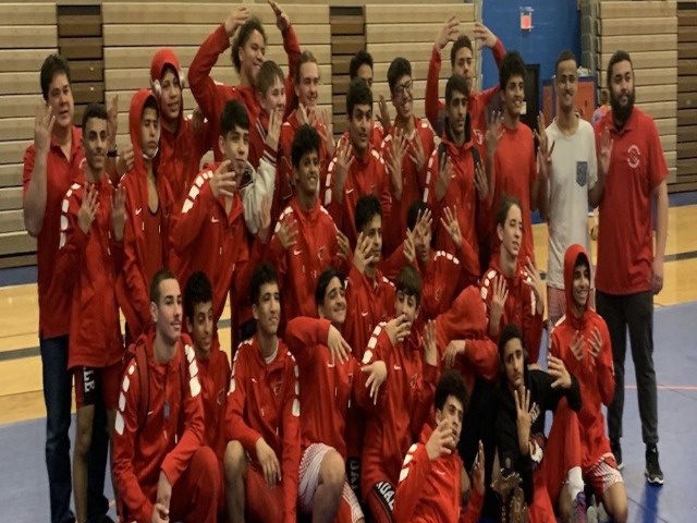 Wrestling win's 8th consecutive district championship
