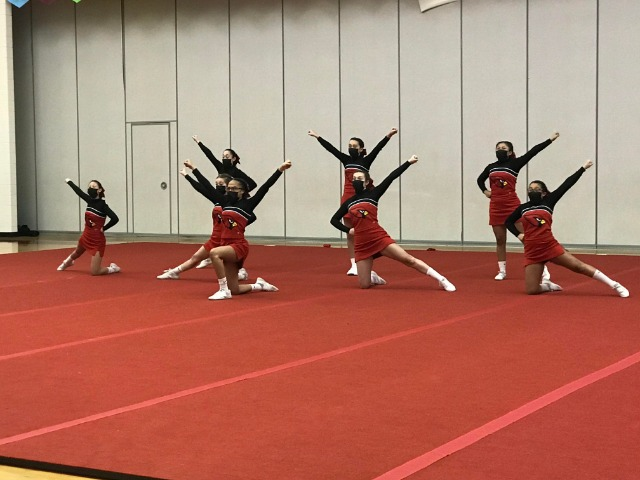 Cheer hosts 3rd Quad at Allendale