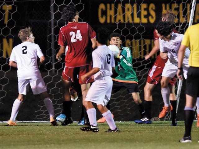 Firing on all cylinders: Salisbury soccer beat S. Rowan, 3-0