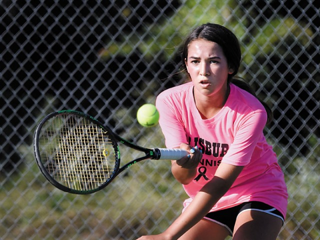 Salisbury tennis has close one, but prevails in 2A playoffs