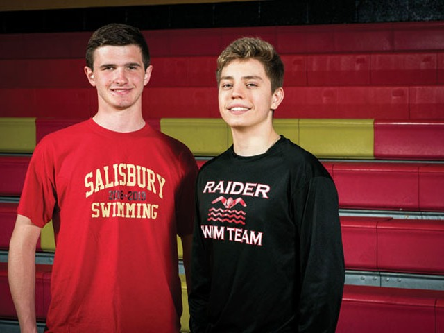 High school swimming: Burton, Bumgarner, Smith take honors
