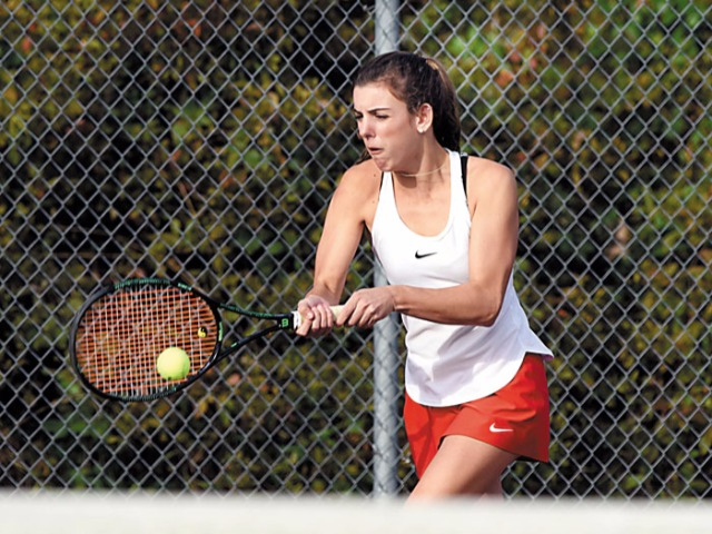 Salisbury girls tennis advances to the state finals
